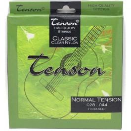 Classic guitar strings Tenson Classic Clear Nylon, Normal Tension