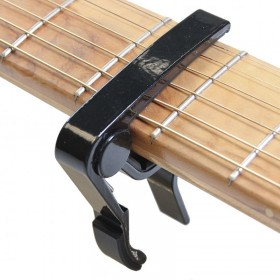 Capo Acoustic Guitar black curved
