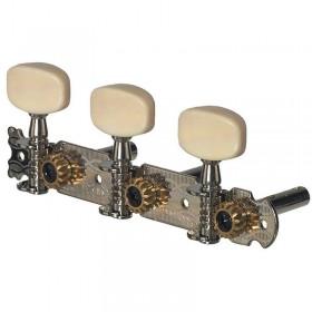 Jazz guitar tuners cream knobs