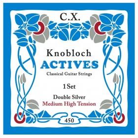 Knobloch Actives Double Silver C.X. Medium High Tension