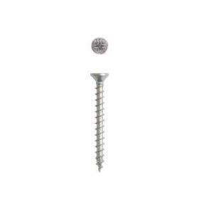 Screw 2,5 x 16 steel flat head (8 units)